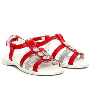 sandale fete din piele
