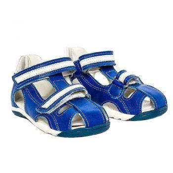 sandale copii din piele cu talonet