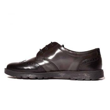Pantofi scoala gri