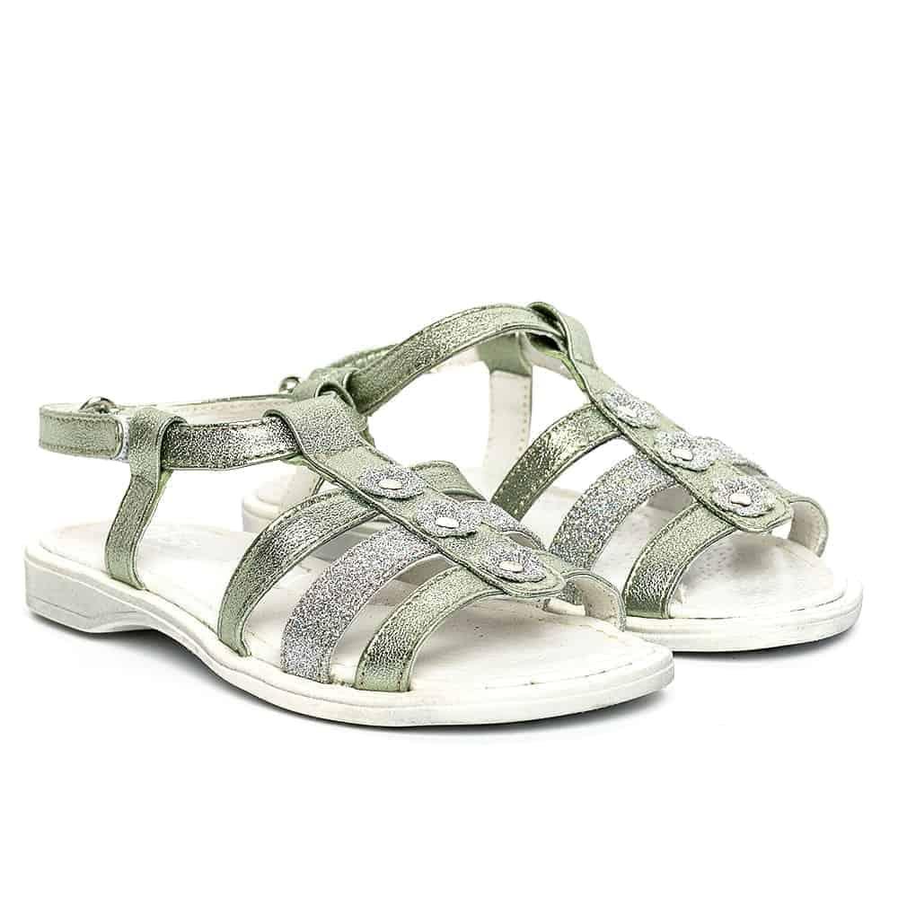 sandale fete piele