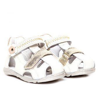 sandale cu talonet din piele