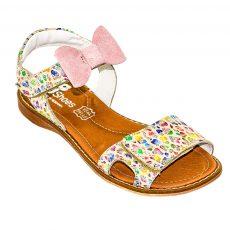 sandale din piele pentru fete