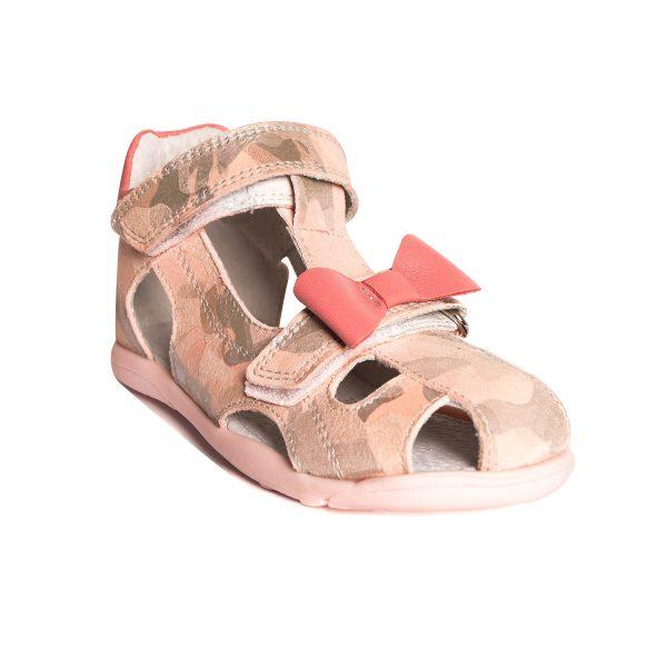 sandale pentru copii din piele cu talpa flexibila
